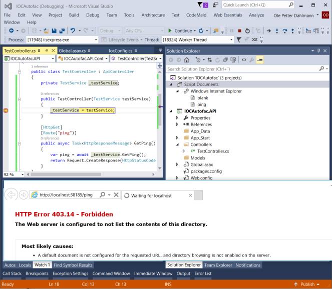 IoC in ASP NET Web API projects – Ole Petter Dahlmann